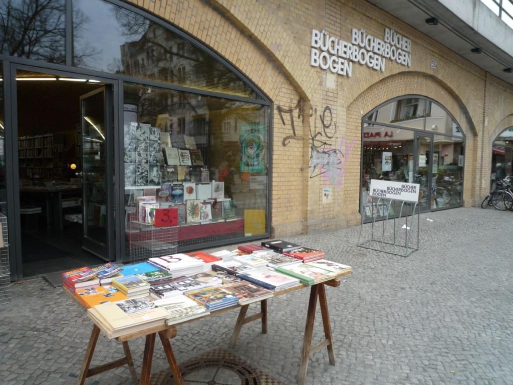 Bücherbogen på Savignyplatz.