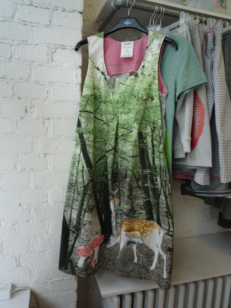 En næsten eventyrlig kjole fra Icke Berlin.