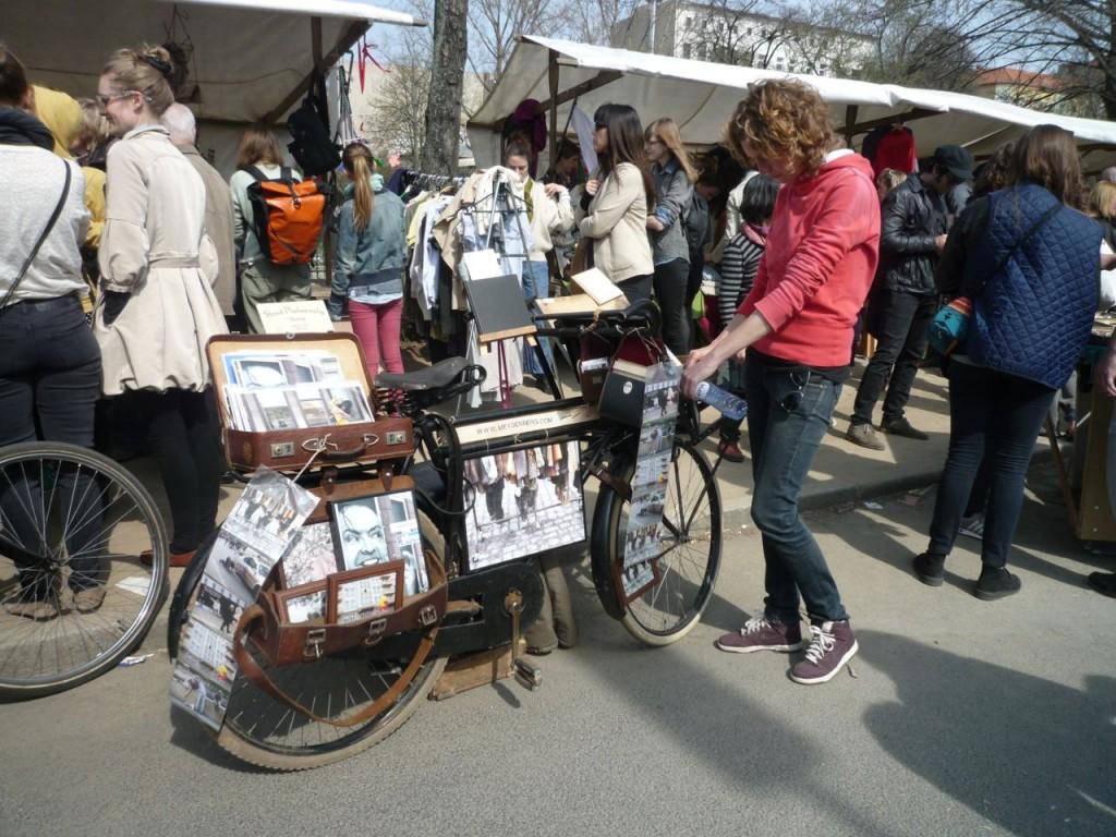 Loppemarked i Neukölln.