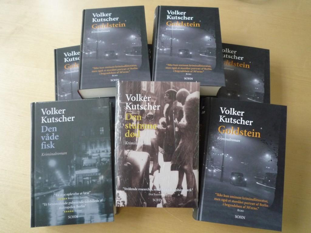 Volker Kutscher-krimier på vej til 6 heldige vindere.
