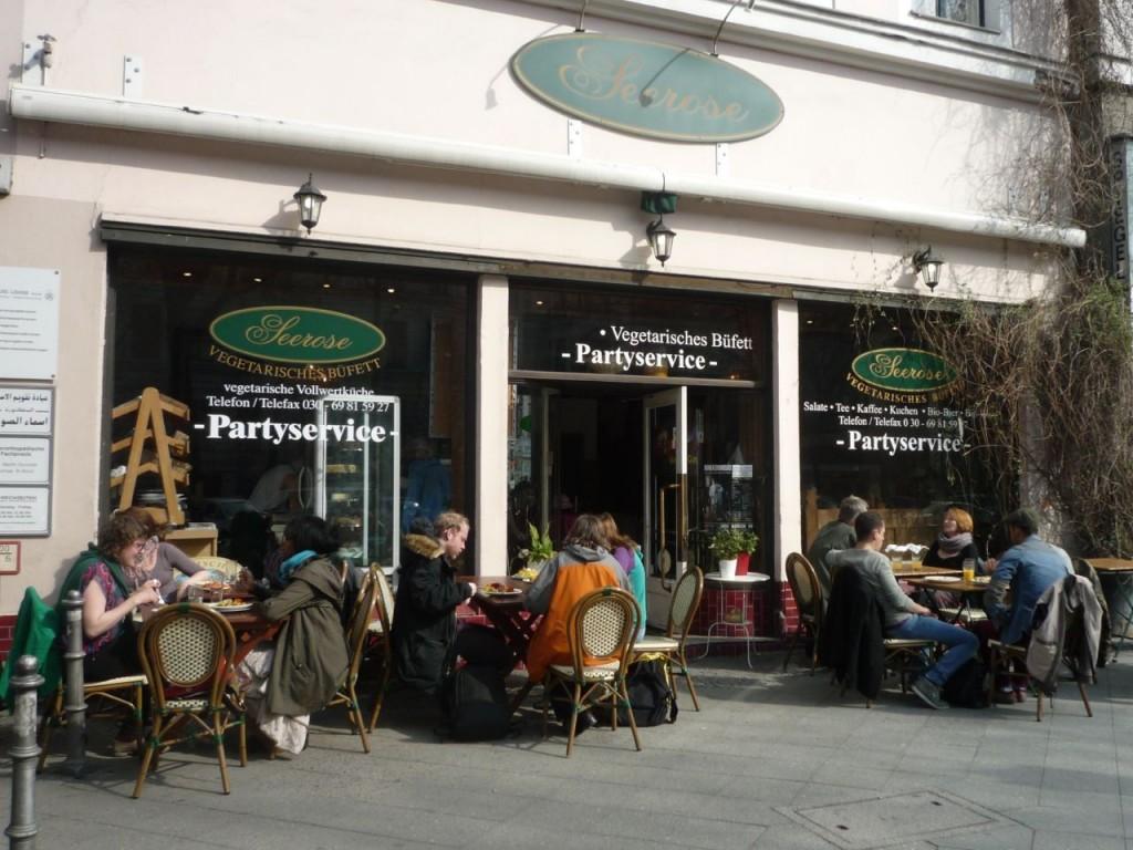 Vegetarrestauranten Seerose i Kreuzberg.