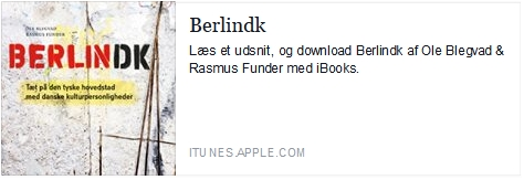 Berlindk på iTunes