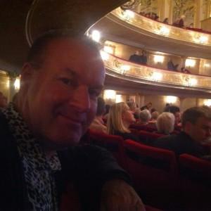 Ole Blegvad i Komische Oper
