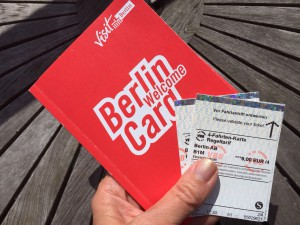 Berlin welcome card - til offentlig transport