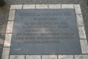 Rudi Dutschke-mindeplade