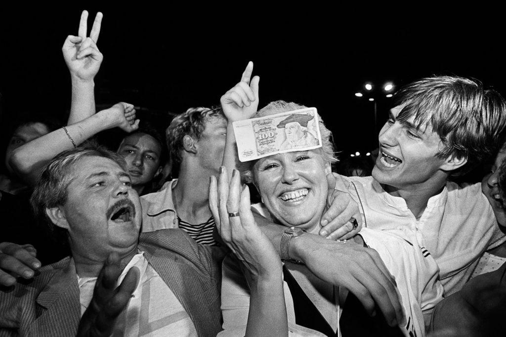 Berlin, natten til 1. juli 1990