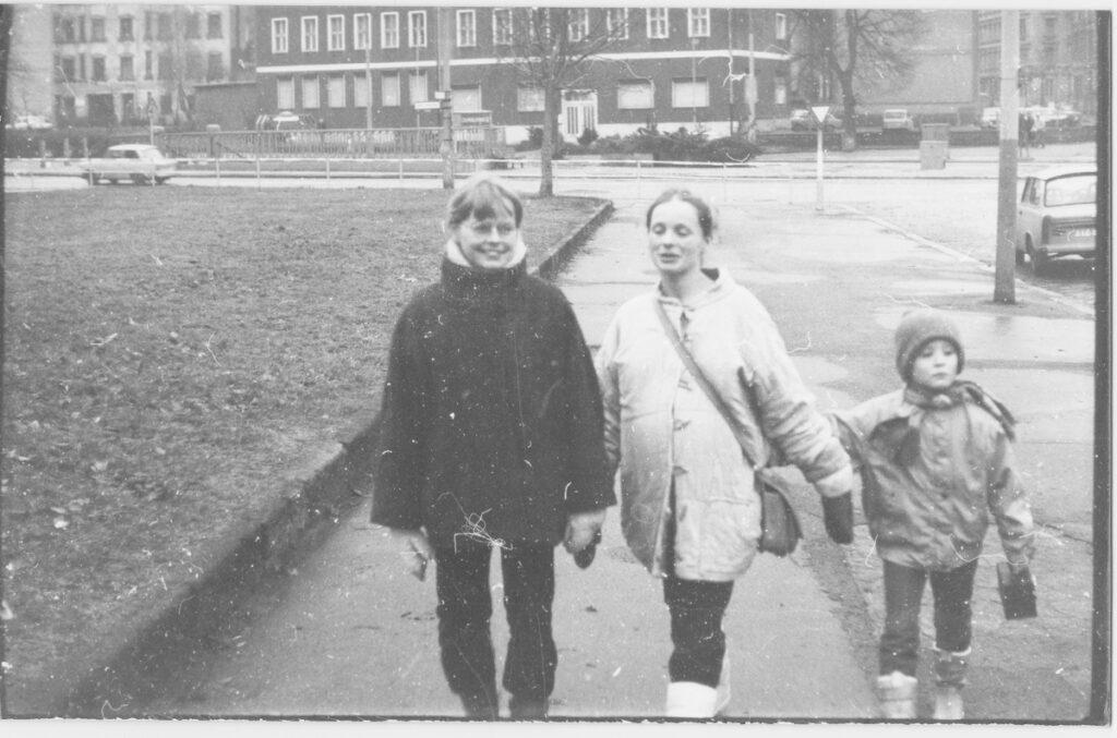 Annette Herzog Prenzlauer Berg 1987