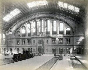 Anhalter Bahnhof 1880