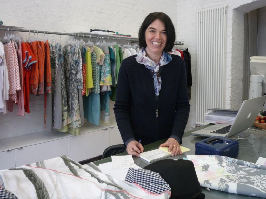 Luisella Ströbele er en af designerne bag Icke Berlin.