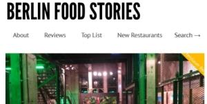 Berlin Food Stories