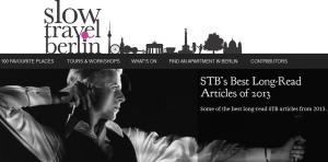 Slow Travel Berlin