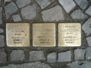 Stolpersteine - snublesten i Berlin