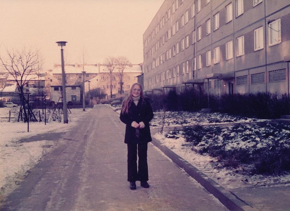 Alice Persson i 1976