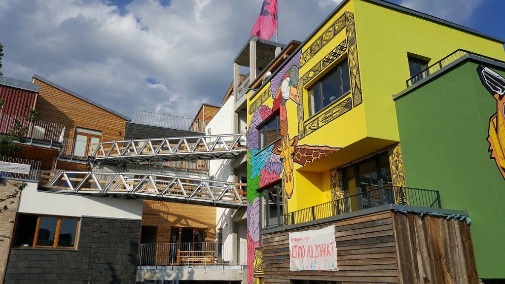 Hippe Holzmarkt Gebäude