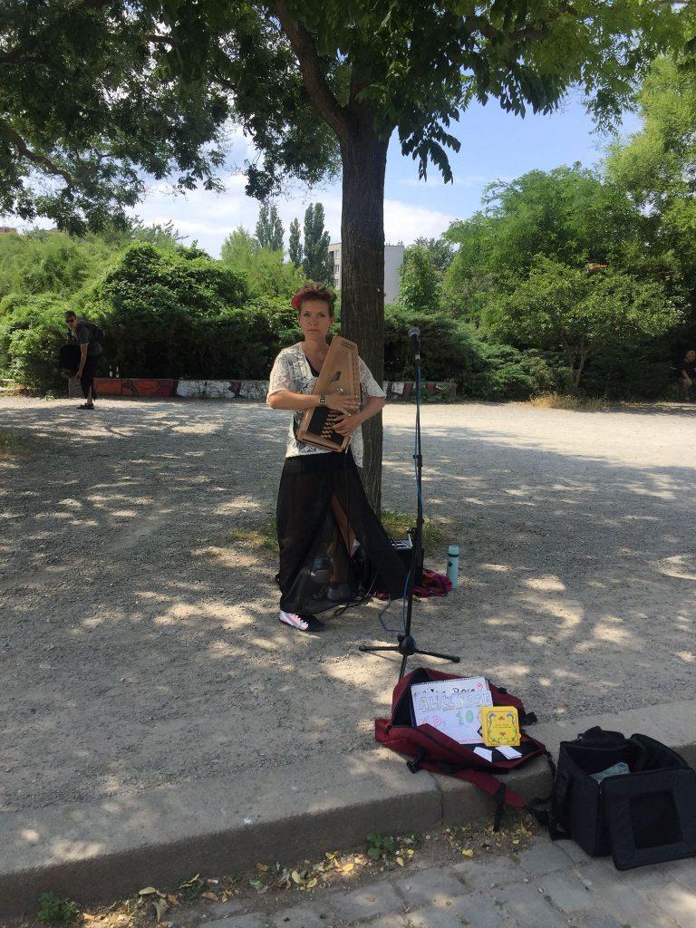 Alice Rose i Mauerpark