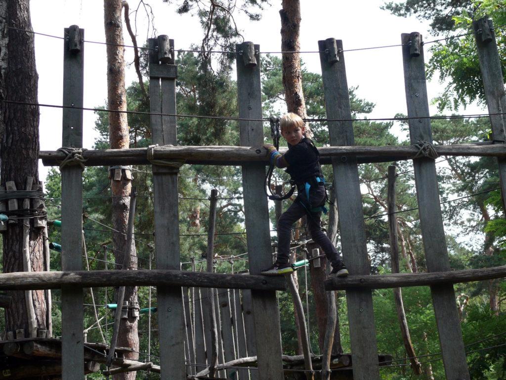 Klatrepark for børn og voksne i det nordlige Berlin