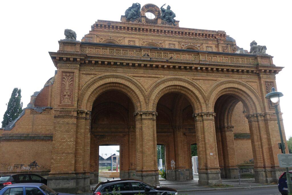 Anhalter Bahnhof Porticus